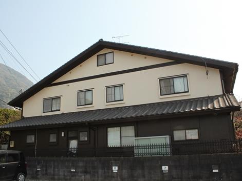 福喜 外壁塗装バイオ高圧洗浄と無機塗料でコケ・カビにさようなら!