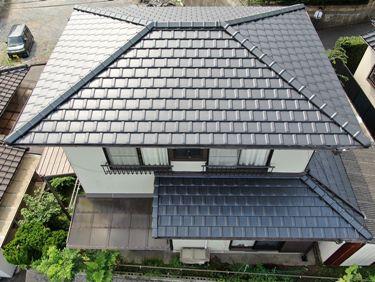 福喜 外壁塗装雨漏りの不安を解決!見違えるような頑丈な屋根に生まれ変わりました☆