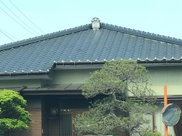 福喜 外壁塗装和風家屋らしさを引き立てる和型瓦と和風の外壁色にリフォーム★
