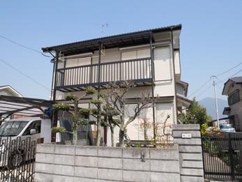 福喜 外壁塗装ひびにはコーキング補修し、耐候性抜群のフッ素塗料でお家を守ります!
