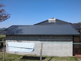 高耐久・断熱お勧め屋根材スーパーガルベスト使用