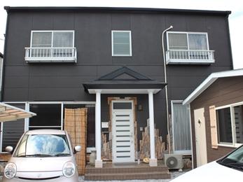 福喜 外壁塗装屋根も外壁も手塗りローラー3回塗り!!安心施工です!