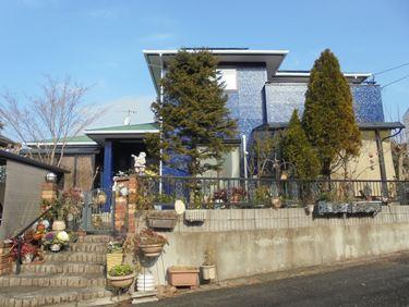 福喜 外壁塗装好きな色を外観に♪ツヤあり塗膜で長く家を守ります!