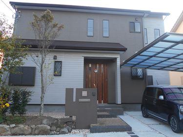 福喜 外壁塗装シンプルだけどカッコイイ!無機塗料で長く家を守ります